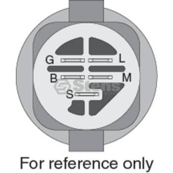 IGNITION SWITCH w// 2 Keys fits MTD 53BA1A3G190 53BA1A6M190 53BA1A7K190 Mower ZTR